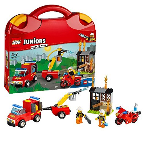 LEGO 10740 Fire Patrol Suitcase Building Set by null