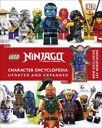 LEGO® Ninjago Character Encyclopedia Updated and Expanded: With Minifigure by DK