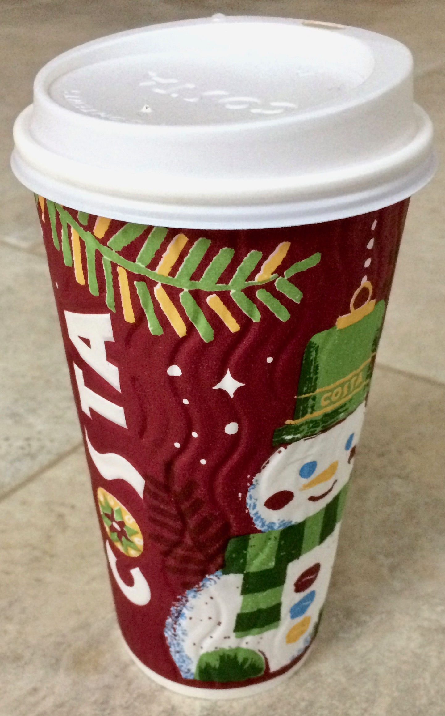 Christmas At Costa Coffee 2017