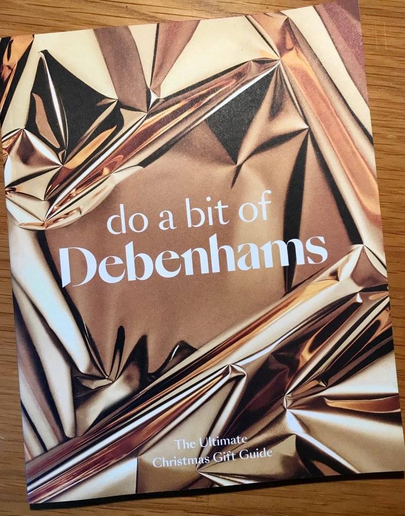 Debenhams Christmas Gift Guide 2018