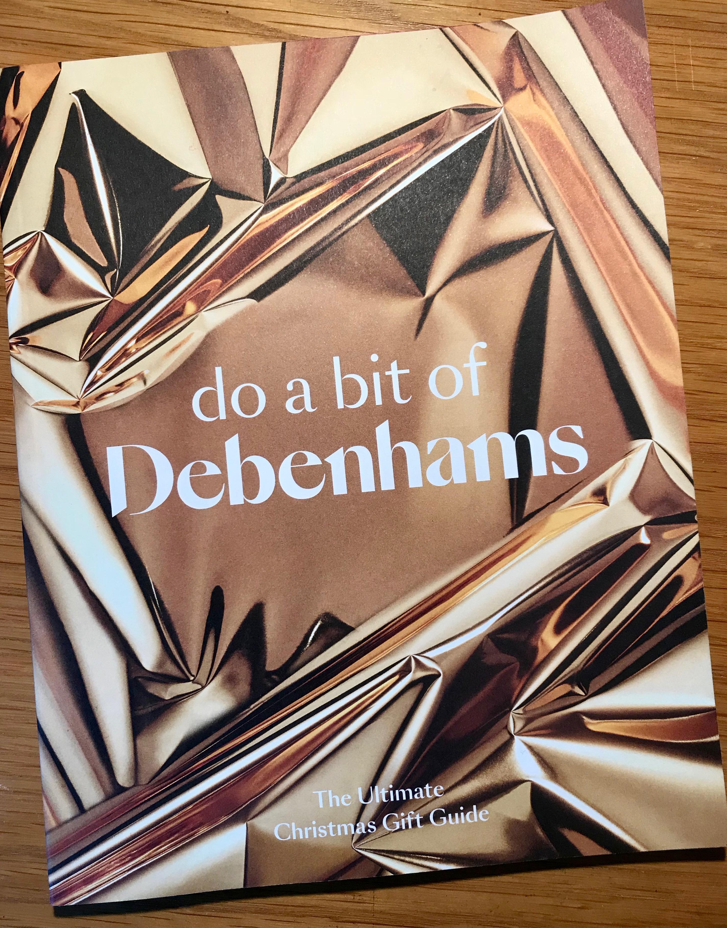 Debenhams Christmas Gift Guide 2018
