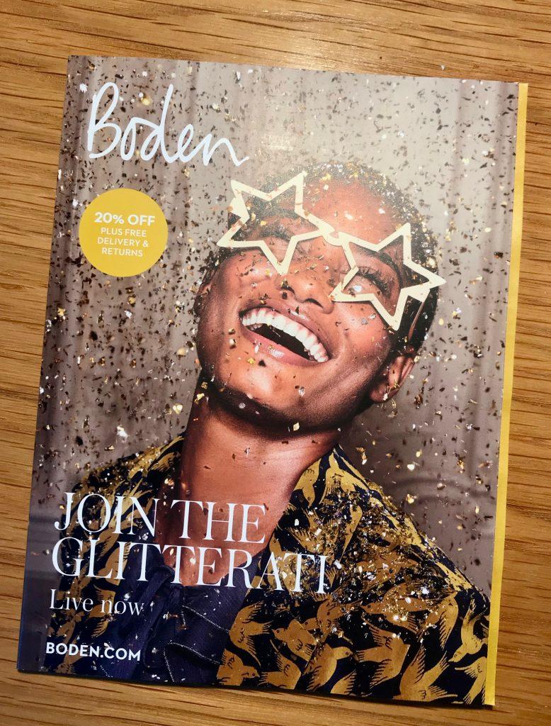 Boden Christmas 2018 Flyer