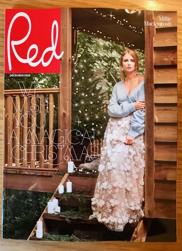 December 2018 Christmas Red Magazine Cover