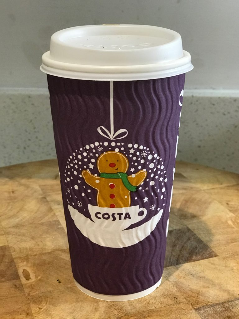 Costa Coffee 2018 Purple Cup