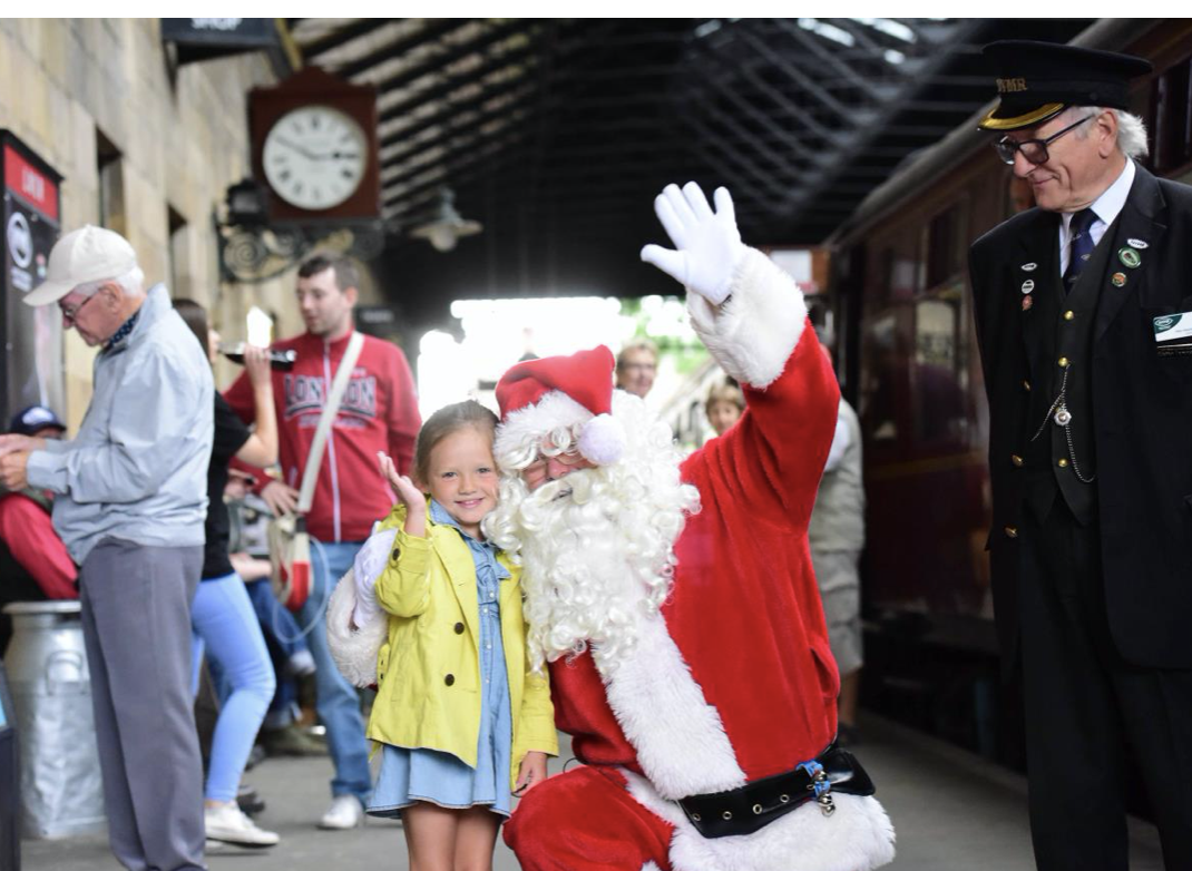 Where to see Father Christmas in York this year.