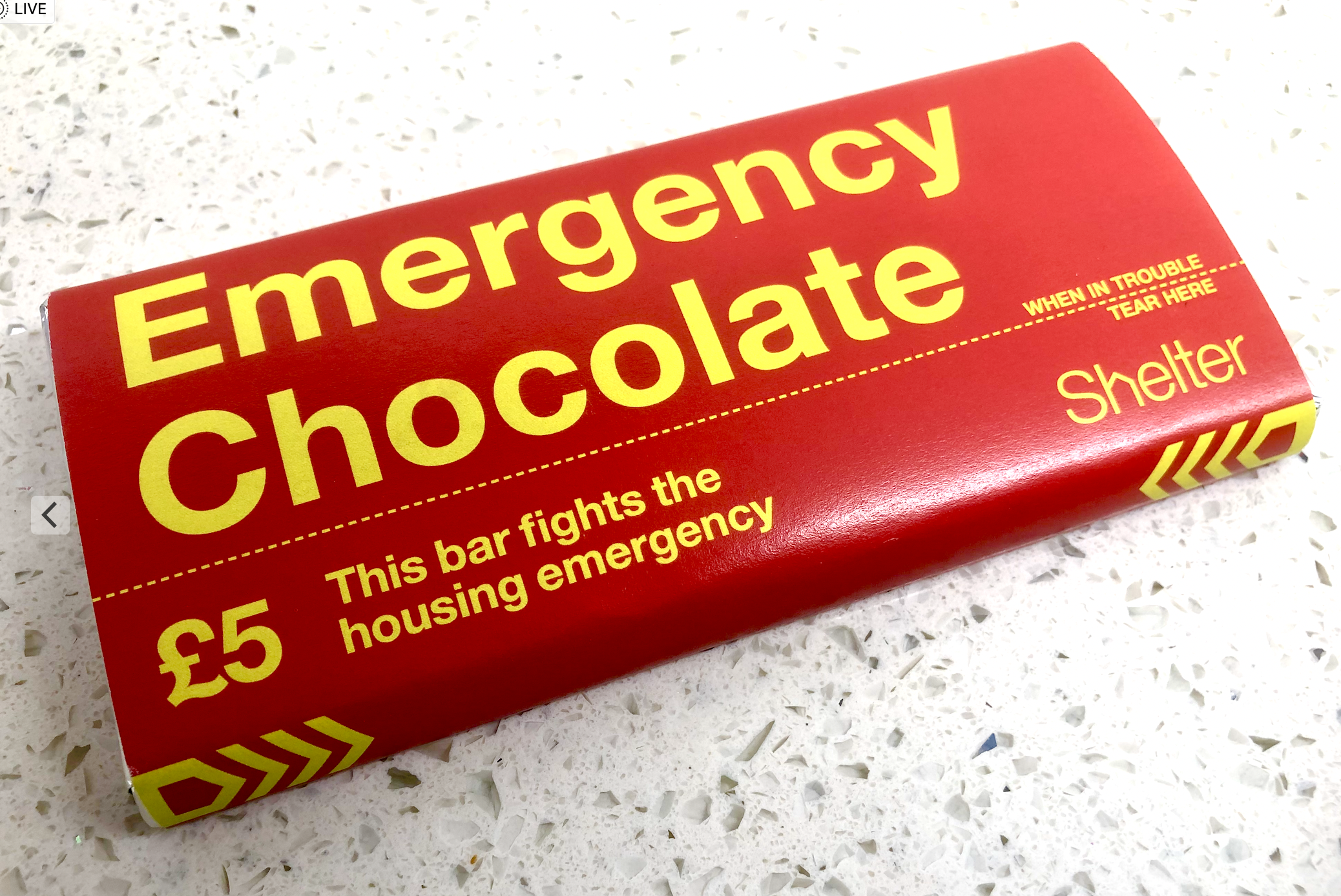 Emergency Chocolate – a great gift idea.