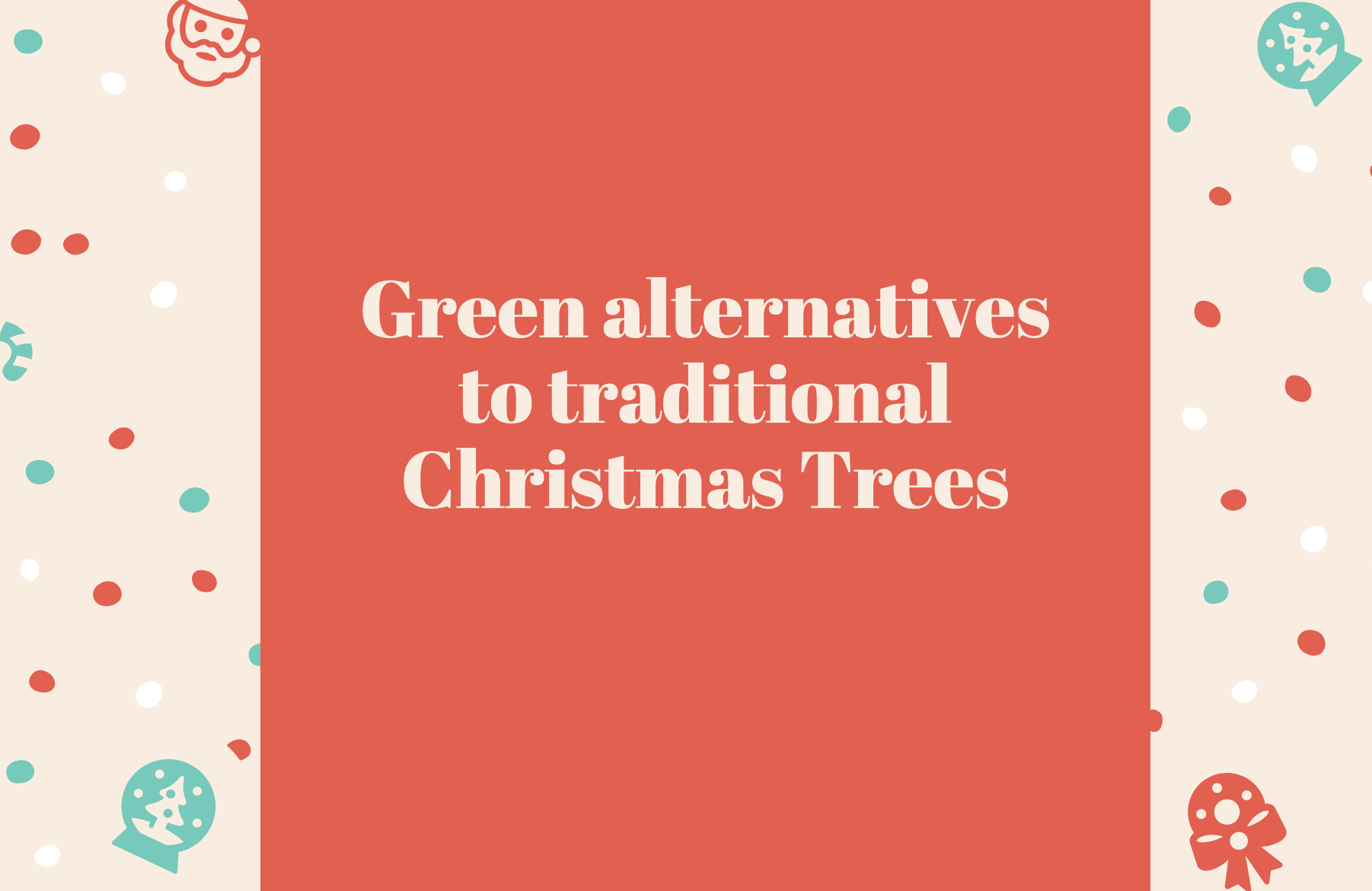 Friends of the Earth's guide to the best Christmas trees that aren't Christmas trees