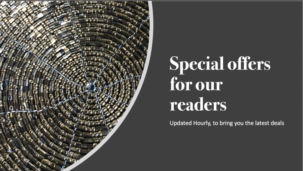 Special offers for our readers. Updated hourly to bring you the latest deals.