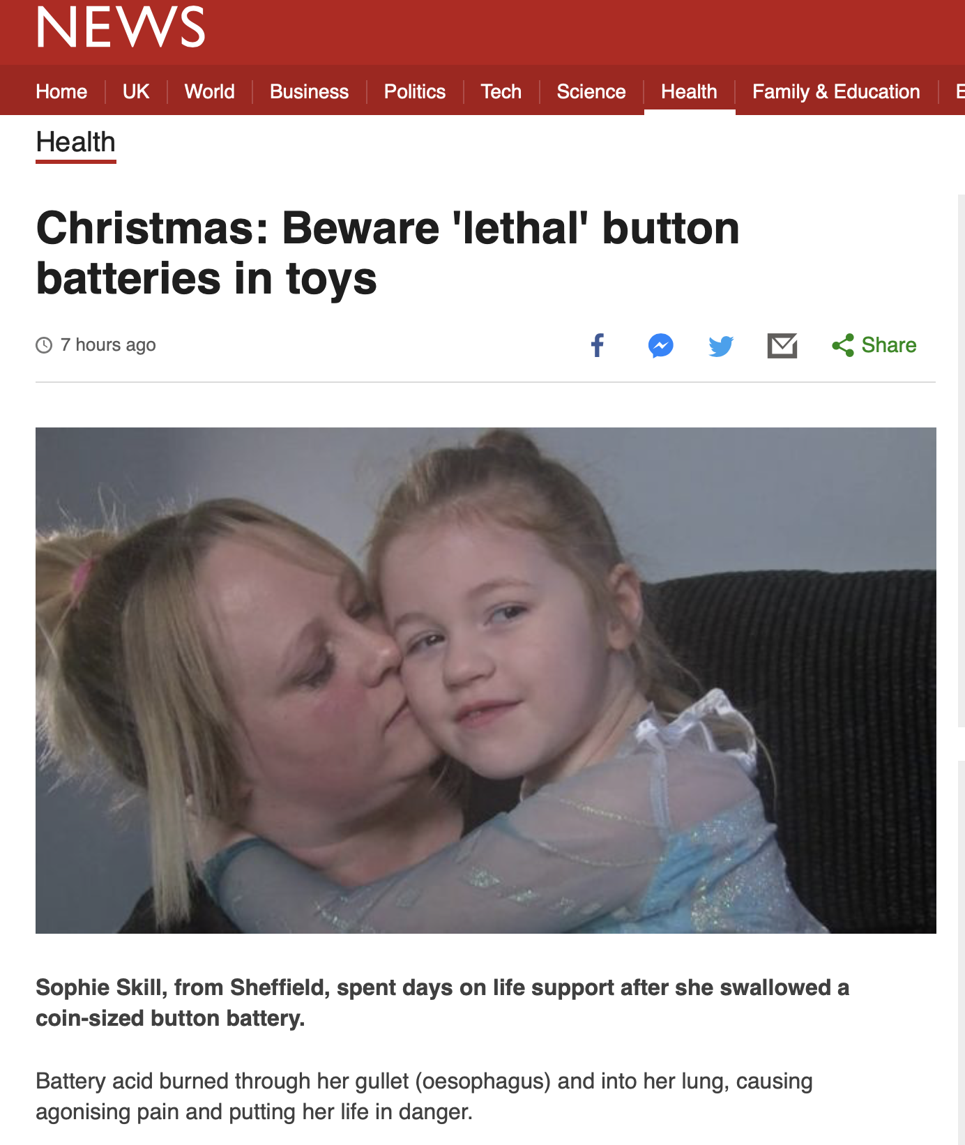 Christmas: Beware 'lethal' button batteries in toys