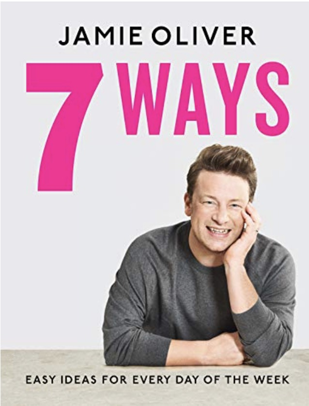 Jamie Oliver 7 Ways Cookery Book Cover