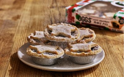 Oggs vegan mince pies review