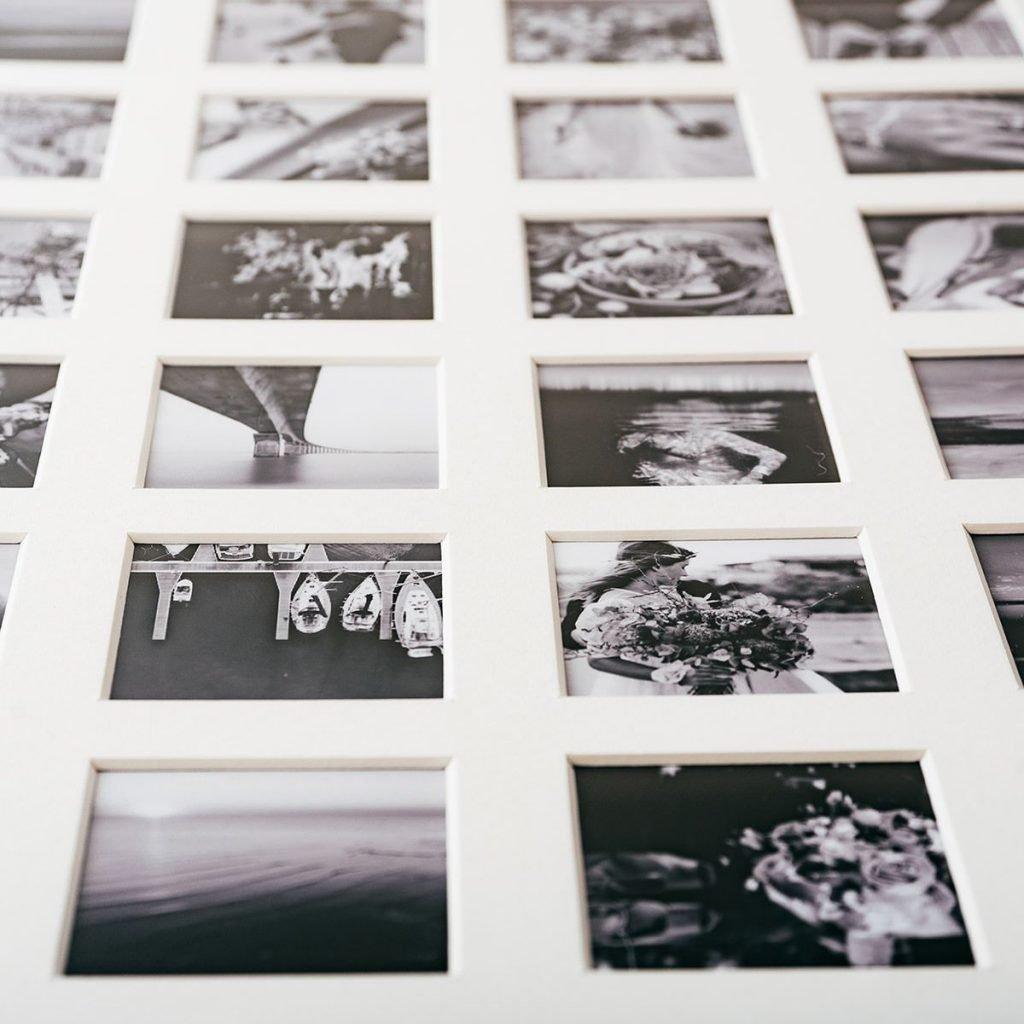 52 week photo aperture frame