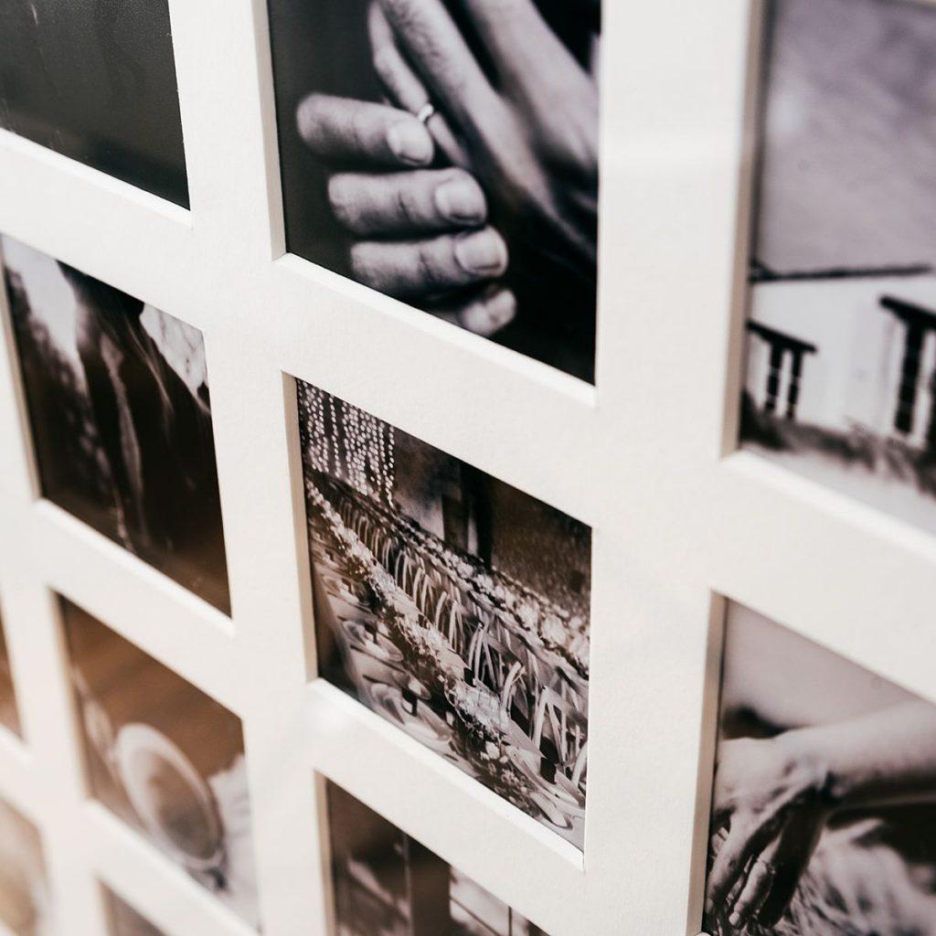 52 week wooden aperture photo frame